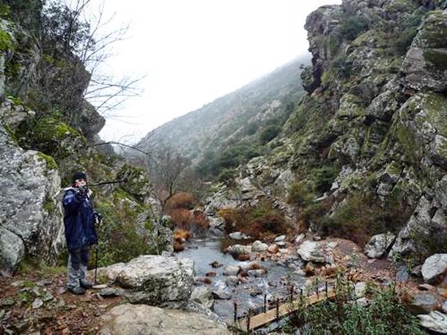 Ruta a pie EL BOQUERON DEL ESTENA (Parque de Cabañeros) |